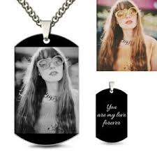 dog tag jewelry engraved buy cheap photo necklace online at gnn up to 40