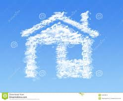 Shape Of House by House Shape Clouds Stock Photography Image 34643872