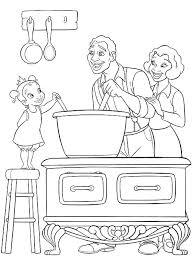 dessins de cuisine dessins de cuisine à colorier