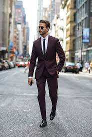wedding suits for men inspiration for male burgundy wedding