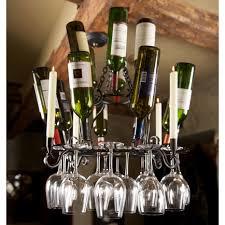 Chandelier Wine Glass Iron Siena Wine Glass Chandelier By Bella Toscana