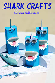 shark craft a perfect under the sea party idea shark craft