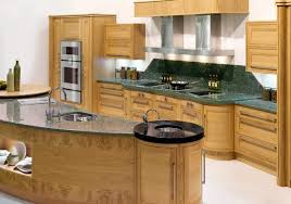 Kitchen Table Island Combination Curved Kitchen Island Designs White Stone Tile Floor Electronic