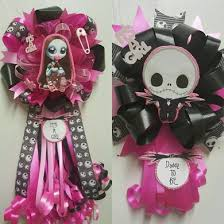 nightmare before christmas baby shower baby shower theme corsages adrianas creations