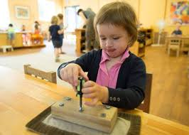 montessori method learning that emerges from within the globe
