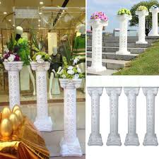 Greek Column Pedestal Greek Column Pedestal Pillar Plant Floral Flower Ball Stand