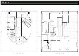 Villa Savoye Floor Plan James Paviour Arch1201 Villa Savoye Draft Drawings