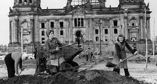 second berlin berlin s rubble women did much of the post war work