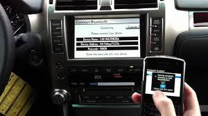 lexus dealership annapolis bluetooth connect blackberry with lexus navigation youtube