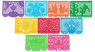amazon com mexican tissue papel picado