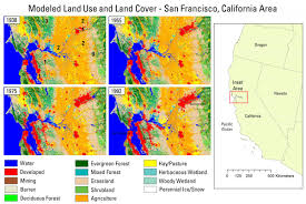 san francisco land use map completion of historical backcast modeling to 1938 for the