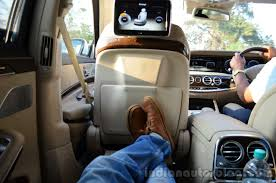 mercedes s class rear seats 2014 mercedes s class review rear seat max legroom indian autos