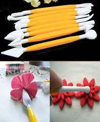online decorating tools 8 pieces plastic sculpture fondant cake decorating modelling tool