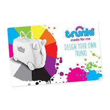 make your own gift card your own trunki gift card