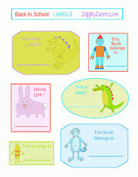 Printable Labels Back To Printable Labels Ziggity Zoom