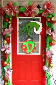 the grinch christmas decorations most loved christmas door decorations ideas on all