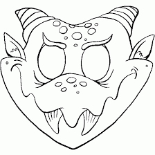 coloring pages halloween masks free printable halloween masks coloring pages free halloween mask