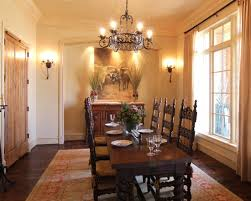 Pretty Traditional Formal Gold Dining Room With Crystal Chandelier - Dining room chandeliers traditional