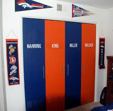 lockers for bedrooms my sons accordion closet doors made to look like lockers diy
