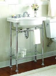 pedestal sink with legs console sink legs medium size of white bathroom vanity bathroom sink