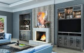 Home Theatre Design Los Angeles Los Angeles Rustic Entertainment Center Living Room Eclectic With