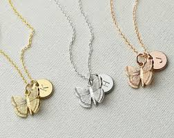 personalized kids jewelry butterfly jewelry etsy