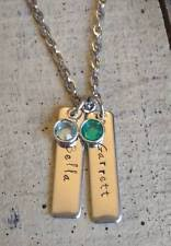 Mom Necklace With Kids Names Kids Name Necklace Ebay