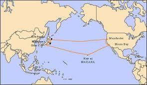 map us japan map of japan hawaii and usa at maps
