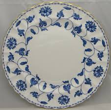 spode colonel blue gold china