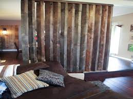 plywood bookcases half wall room divider ideas rustic room