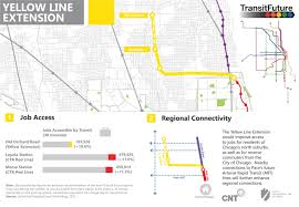 Cta Red Line Map Yellow Line Extension Transit Future