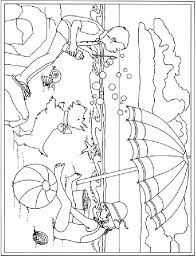 summer vacation printable coloring pages for kids 27 free