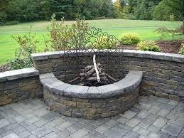 Build Backyard Fire Pit - outdoor fire pit kits stone u2013 jackiewalker me