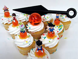 dragon ball z personalized edible cake topper image 1 4 sheet