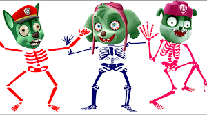 zombie paw patrol skeleton coloring pages kids zombie