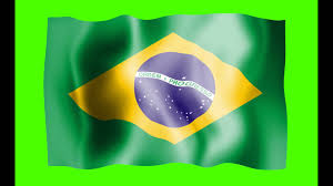 Brizil Flag Brazil Flag Green Screen Free Royalty Footage Youtube