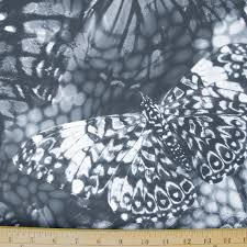 polyester lycra spandex fabric material black gray grey white