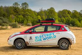 nissan leaf warranty 2017 modified leaf to enter the 10 000 mile mongol rally video