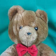 big vintage plush dakin fun farm honey jo teddy bear 1986