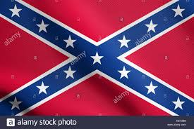 Dixi Flag National Flag Of The Confederate States Of America Known As Stock