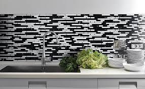 backsplash for black and white kitchen kitchen design 20 photos white mosaic tile kitchen backsplash