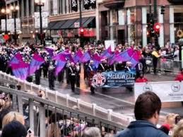 mcdowell high band thanksgiving parade in chicago marion nc guide