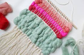 Basic Diy Loom And Woven by Weaving With Wool Roving U2013 A Beautiful Mess