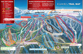 Utah Ski Resort Map by Honest Eldora Trail Map Skiing