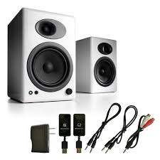 home theater system wireless audioengine a5 premium powered bookshelf speakers with w3