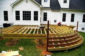 Wood Patio Deck Designs Idea Patio Deck Designs Or Split Level Patio Deck W Planter