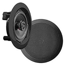 Top Rated Ceiling Speakers by Pyle Pdic61rdbk In Wall In Ceiling Dual 6 5 Inch Speaker System