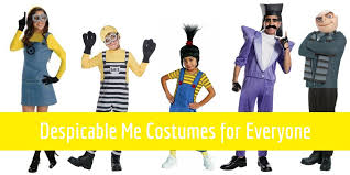 Despicable Halloween Costumes Despicable Costumes U2013 Gru Minions Kevin Dave Stuart