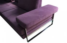 Purple Corner Sofas Fusion Corner Sofa With Innovative Headrest System