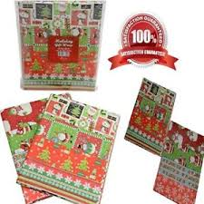 flat christmas wrapping paper gift wrap classic christmas wrapping paper flat folded